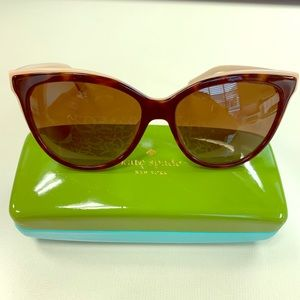 Kate Spade Polarized Daesha Sunglasses Like New
